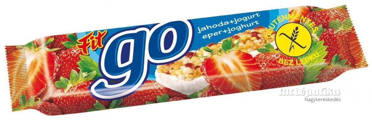 Fit gluténmentes müzliszelet eper-joghurt 23g
