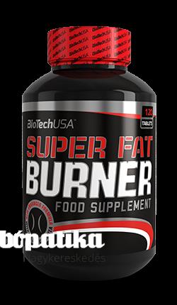 Super Fat Burner, diétád kiegészítője -120 tabletta