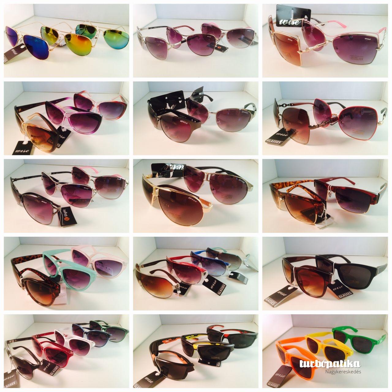 50 db-os napszemüveg giga-pack UW400 (A teljes felnőtt készletből összeválogatva!)